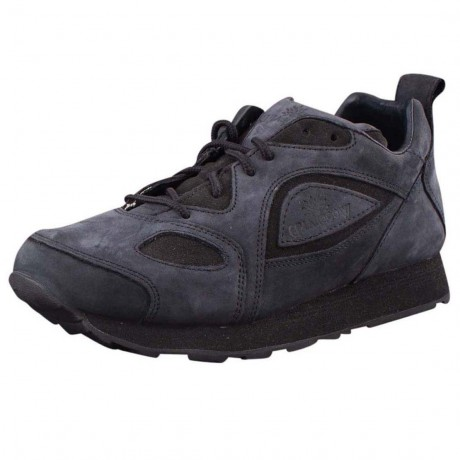 Woodland Mens Black Leather Shoe